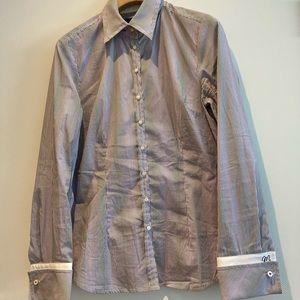 Mexx button up pin stripe blouse